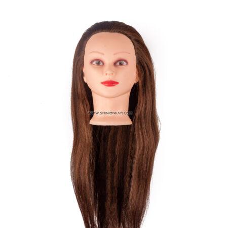 سرمانکن موی طبیعی رنگ قهوه ای