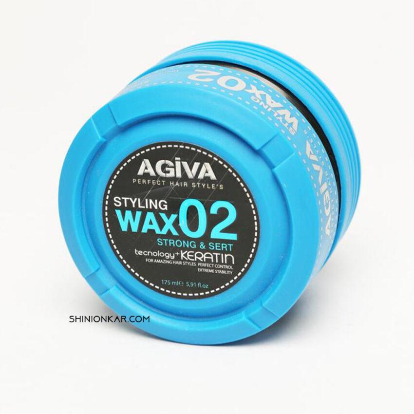 واکس مو آگیوا مدل 01 آبی