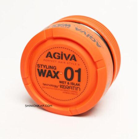 واکس مو آگیوا مدل 01 نارنجی